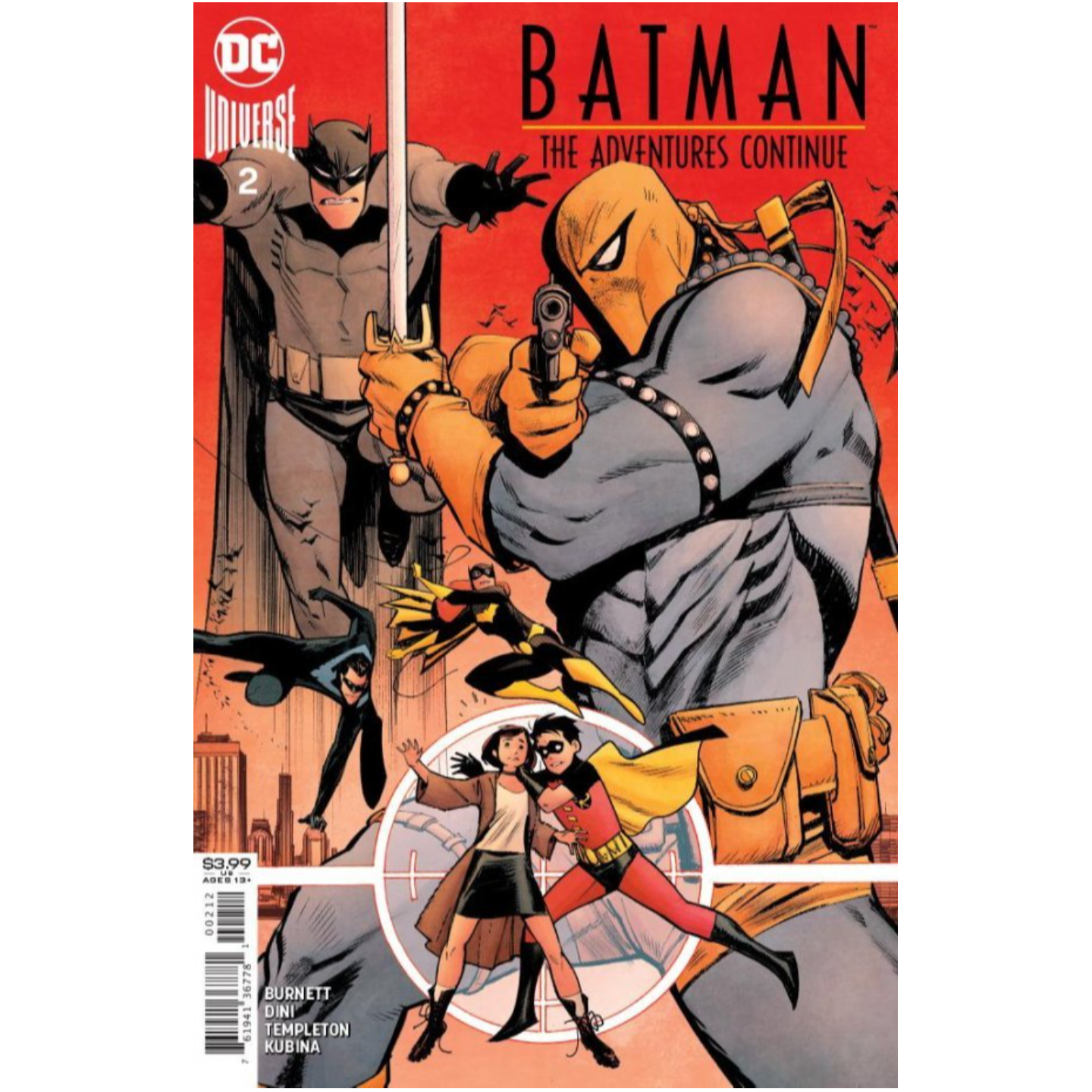 BATMAN THE ADVENTURES CONTINUE 2 OF 6 Second printing
