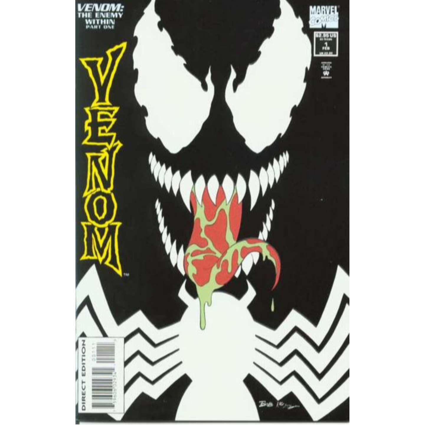 VENOM : THE ENEMY WITHIN #1 - #3 LIMITED SERIES