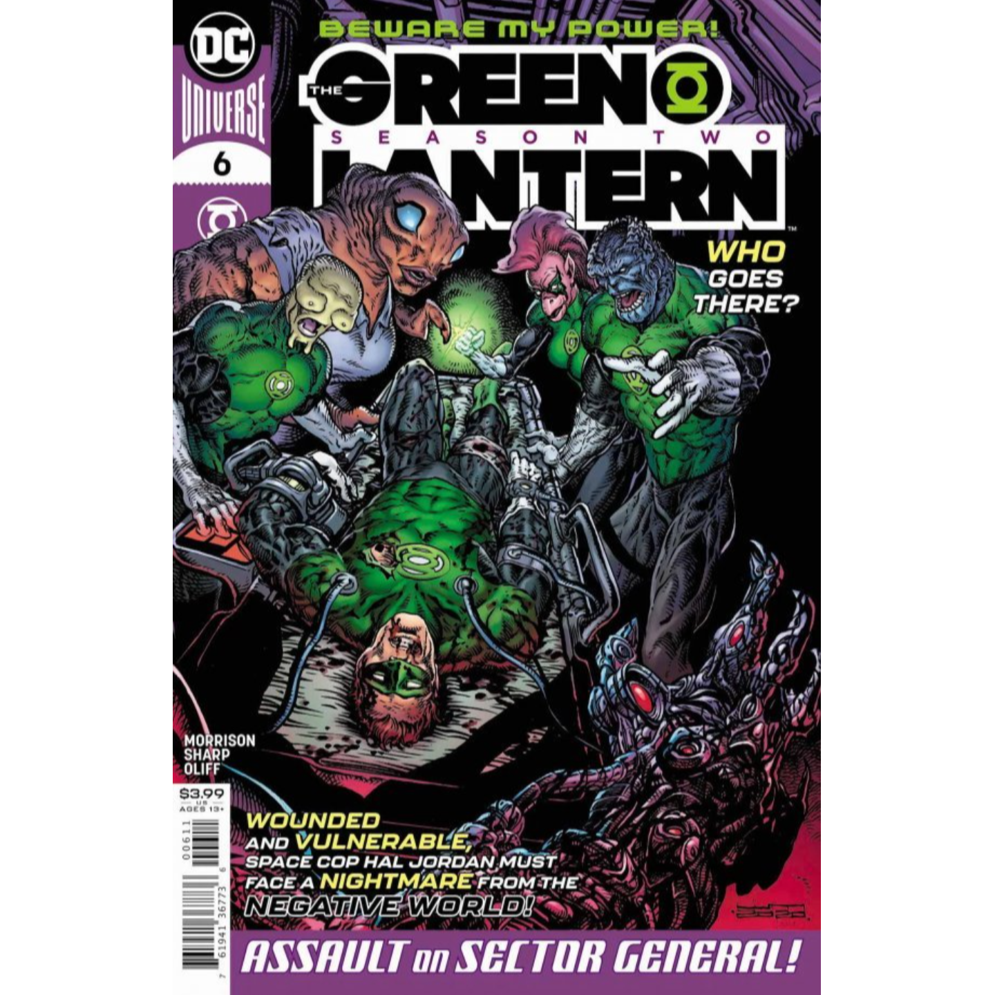 GREEN LANTERN SEASON 2 #6 (OF 12) CVR A LIAM SHARP