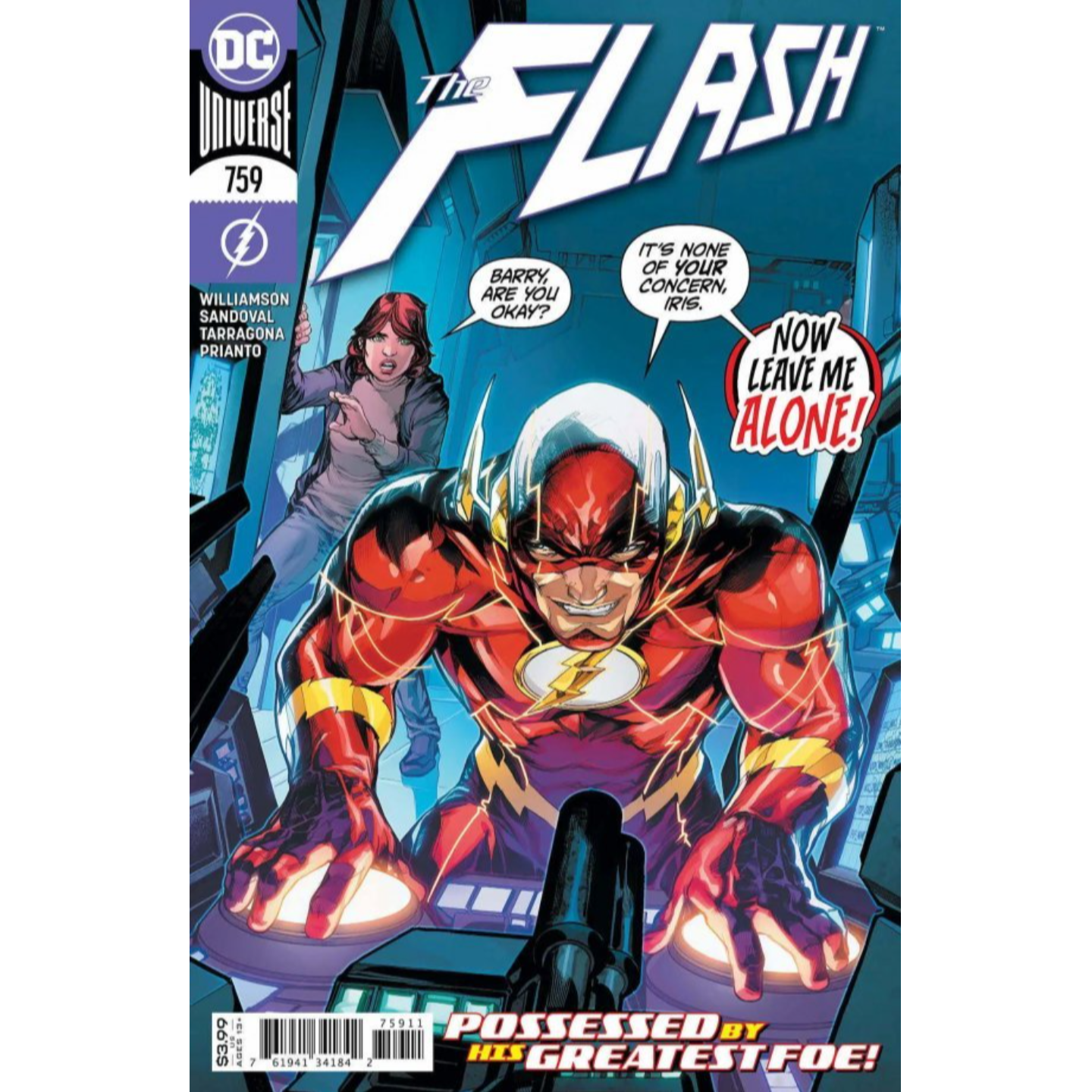 FLASH #759 CVR A HOWARD PORTER