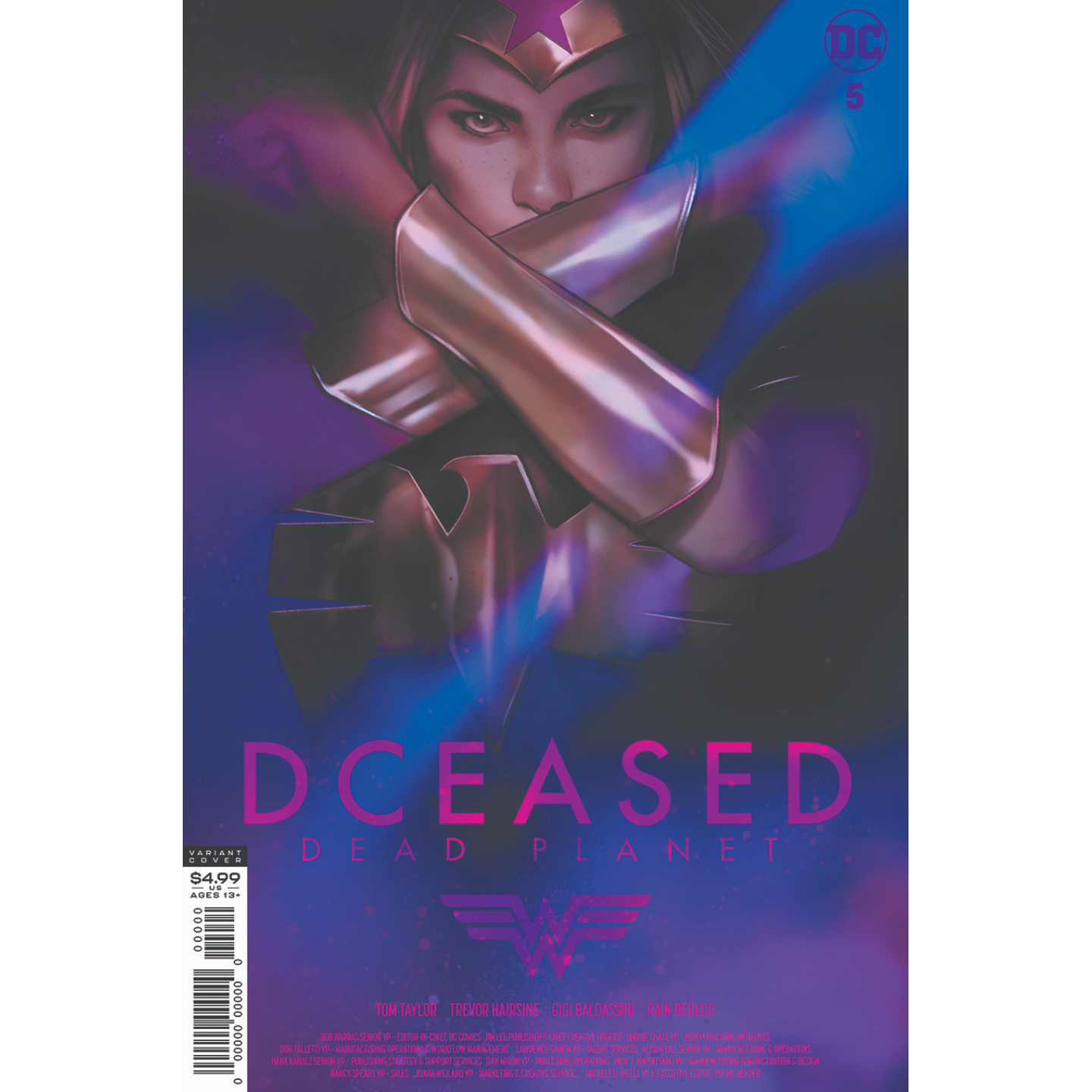 DCEASED DEAD PLANET #5 (OF 7) CVR C BEN OLIVER MOVIE HOMAGE CARD STOCK VAR