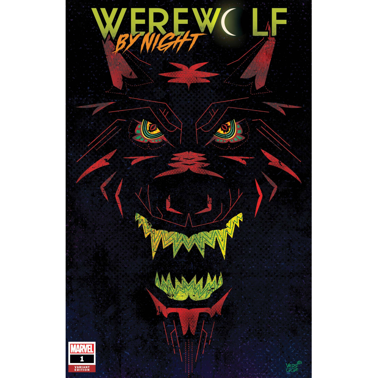 WEREWOLF BY NIGHT #1 (OF 4) VEREGGE VAR
