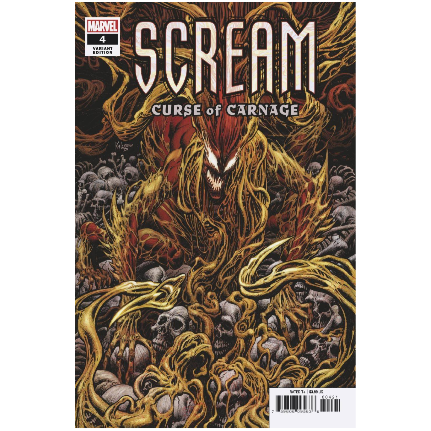SCREAM: CURSE OF CARNAGE #4 - CRAIN VAR