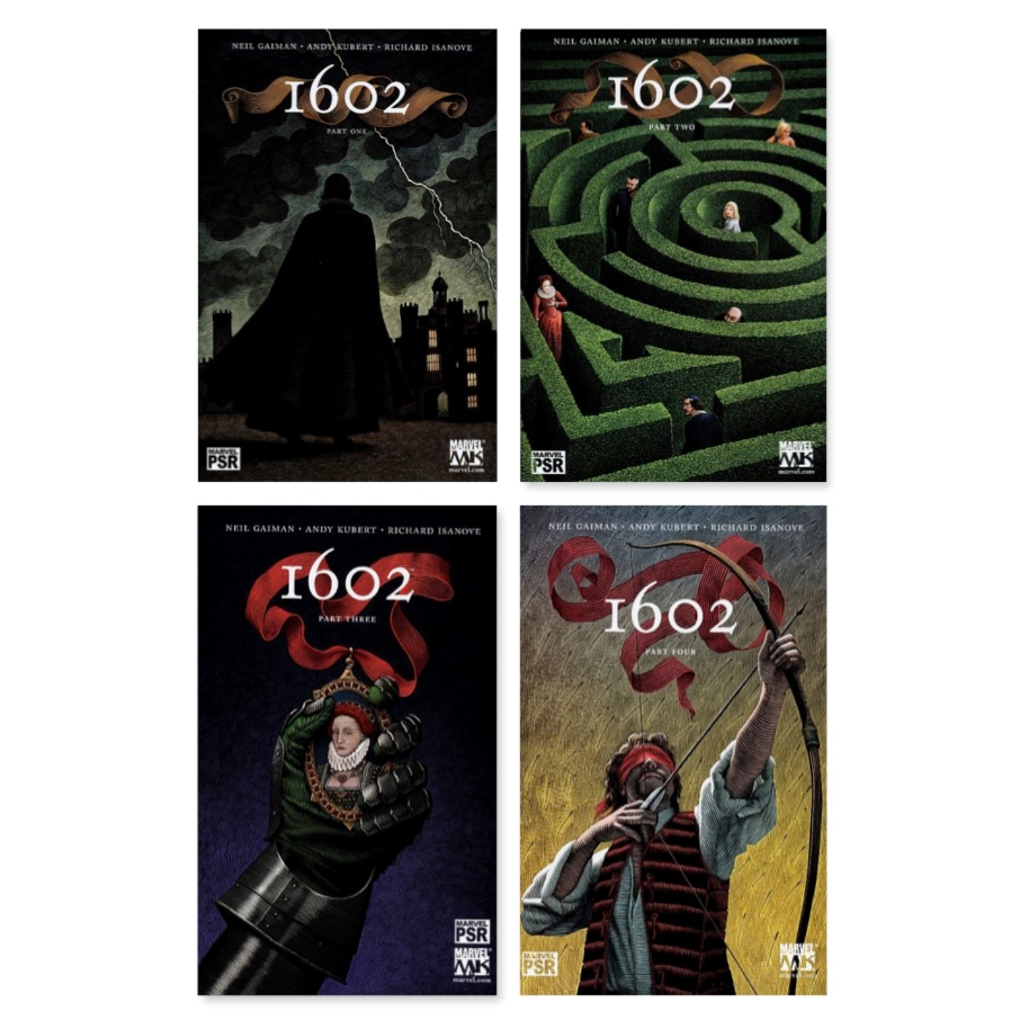 MARVEL 1602 #1 - #8 COMPLETE SET RUN