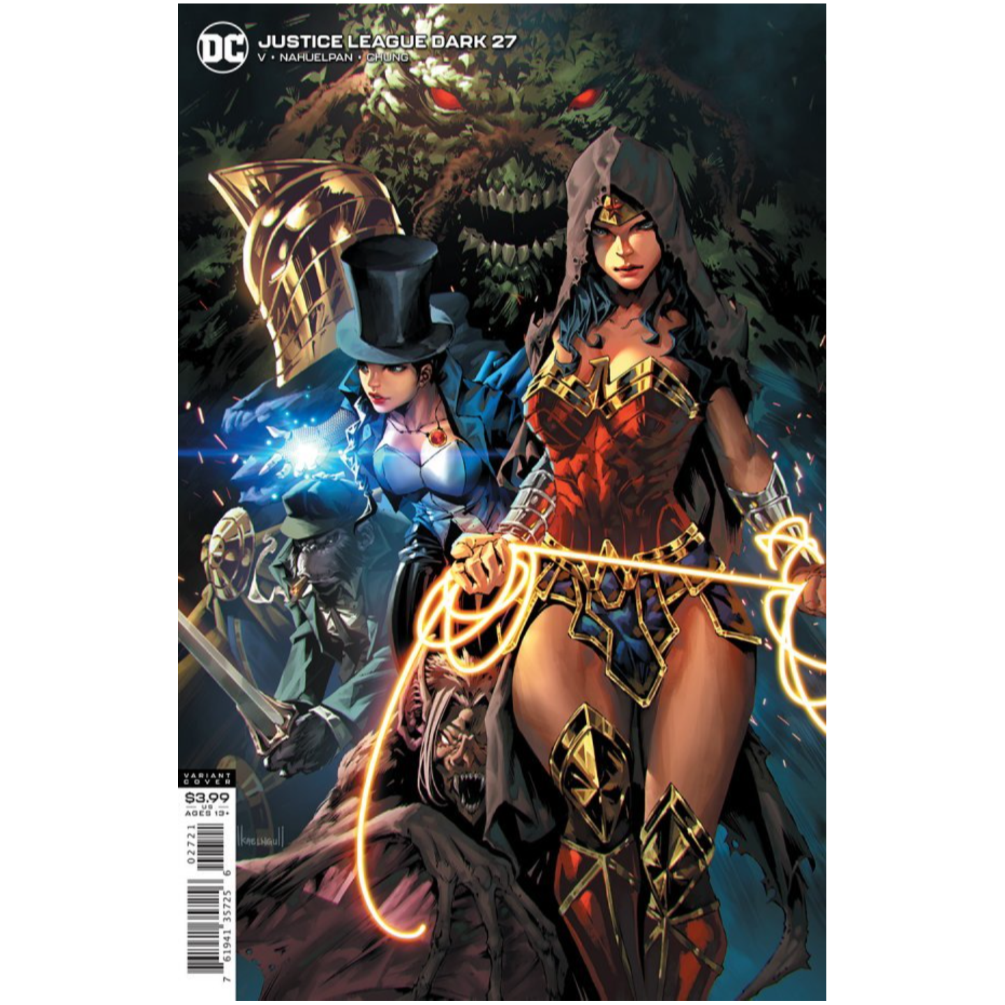 JUSTICE LEAGUE DARK #27 CVR B KAEL NGU VAR