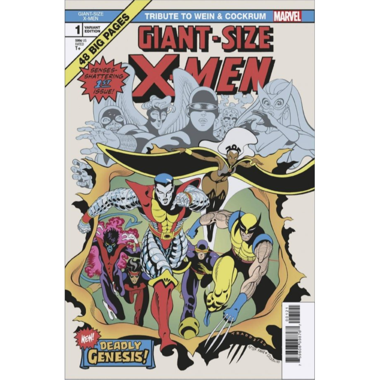 GIANT SIZE X-MEN TRIBUTE WEIN COCKRUM #1