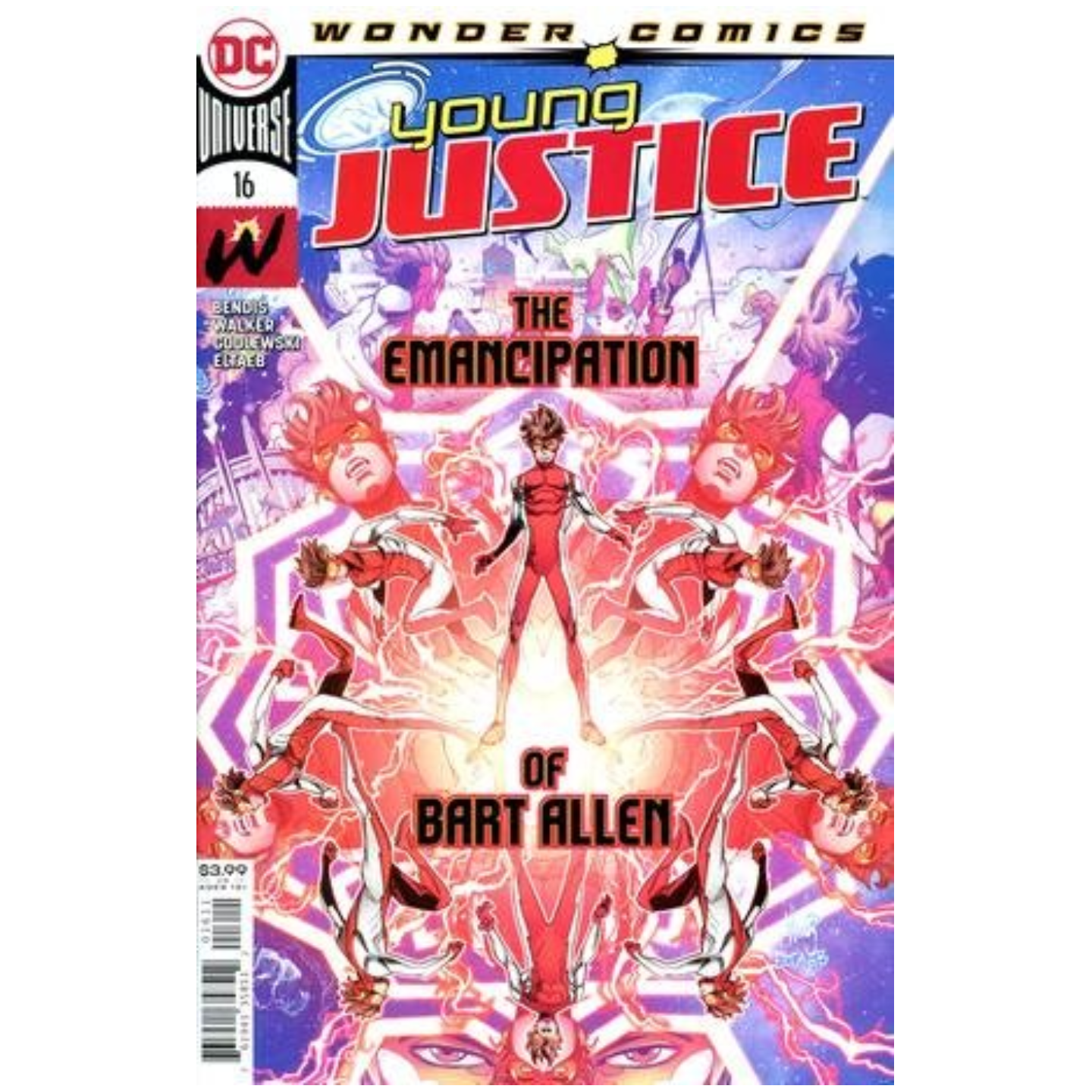 YOUNG JUSTICE #16 CVR A JOHN TIMMS