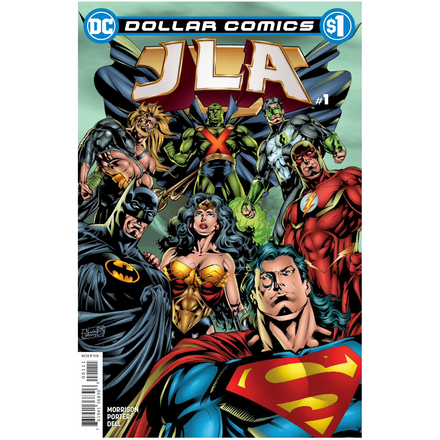 DOLLAR COMICS JLA 1