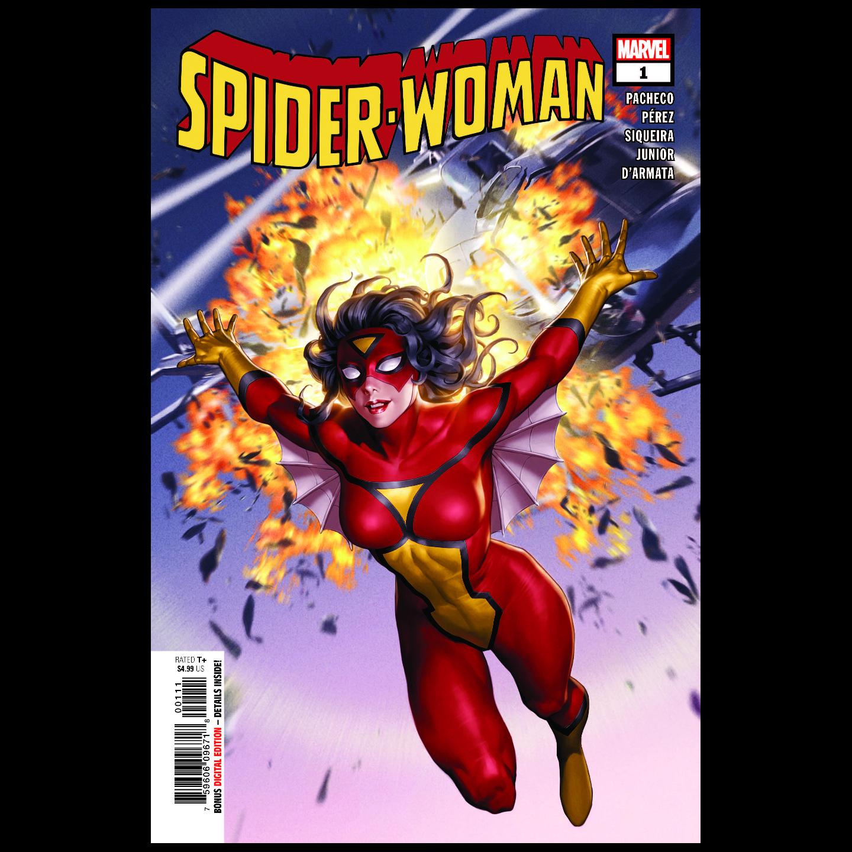 SPIDER-WOMAN 1 YOON CLASSIC CVR
