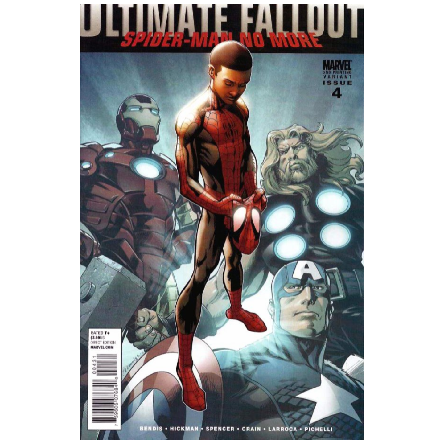 ULTIMATE FALLOUT #4 2ND PRINTING BAGLEY VARIANT
