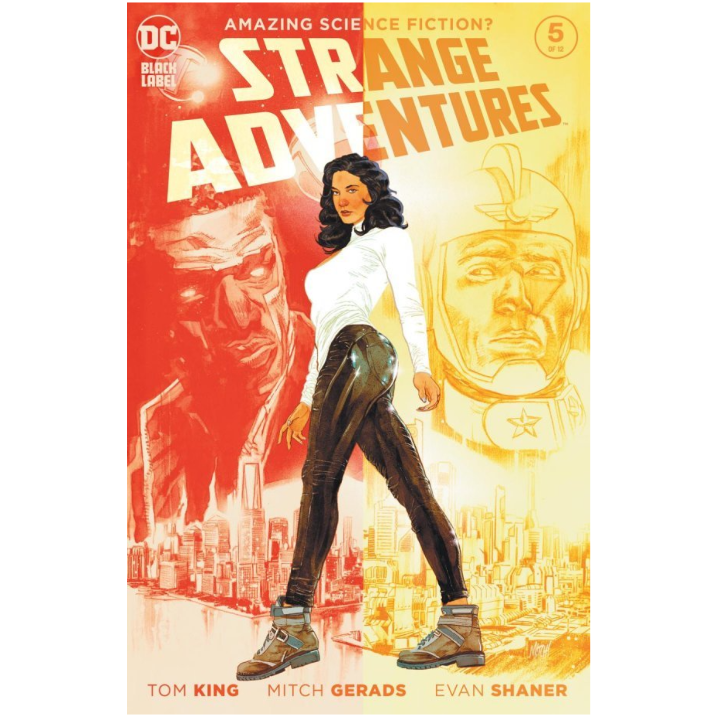STRANGE ADVENTURES #5 (OF 12) CVR A MITCH GERADS (MR)