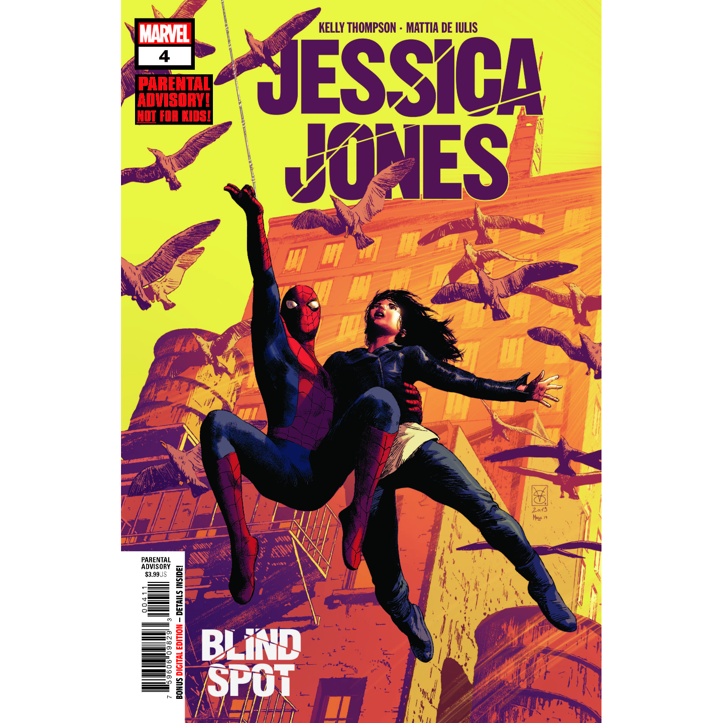 JESSICA JONES BLIND SPOT 4 OF 6