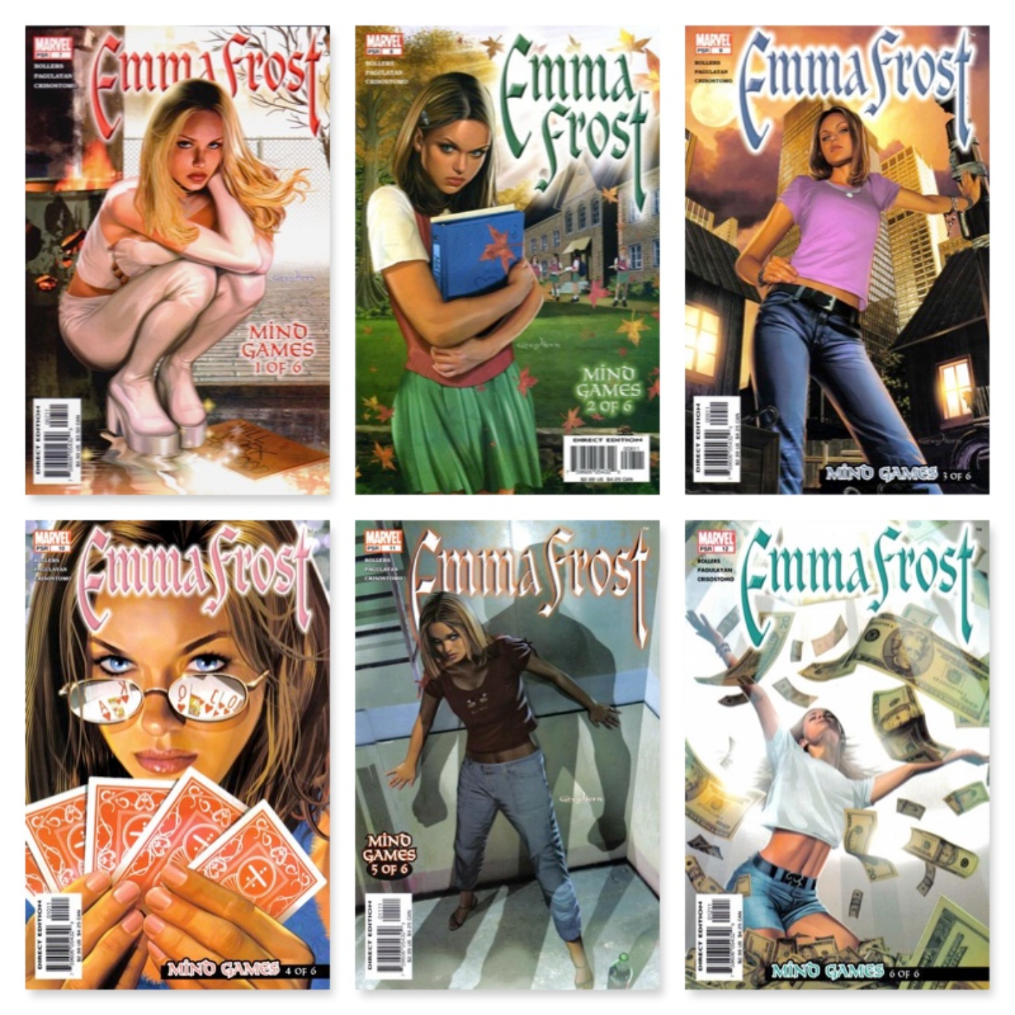 EMMA FROST #1 - #18 COMPLETE SET (KEY COLLECTION)