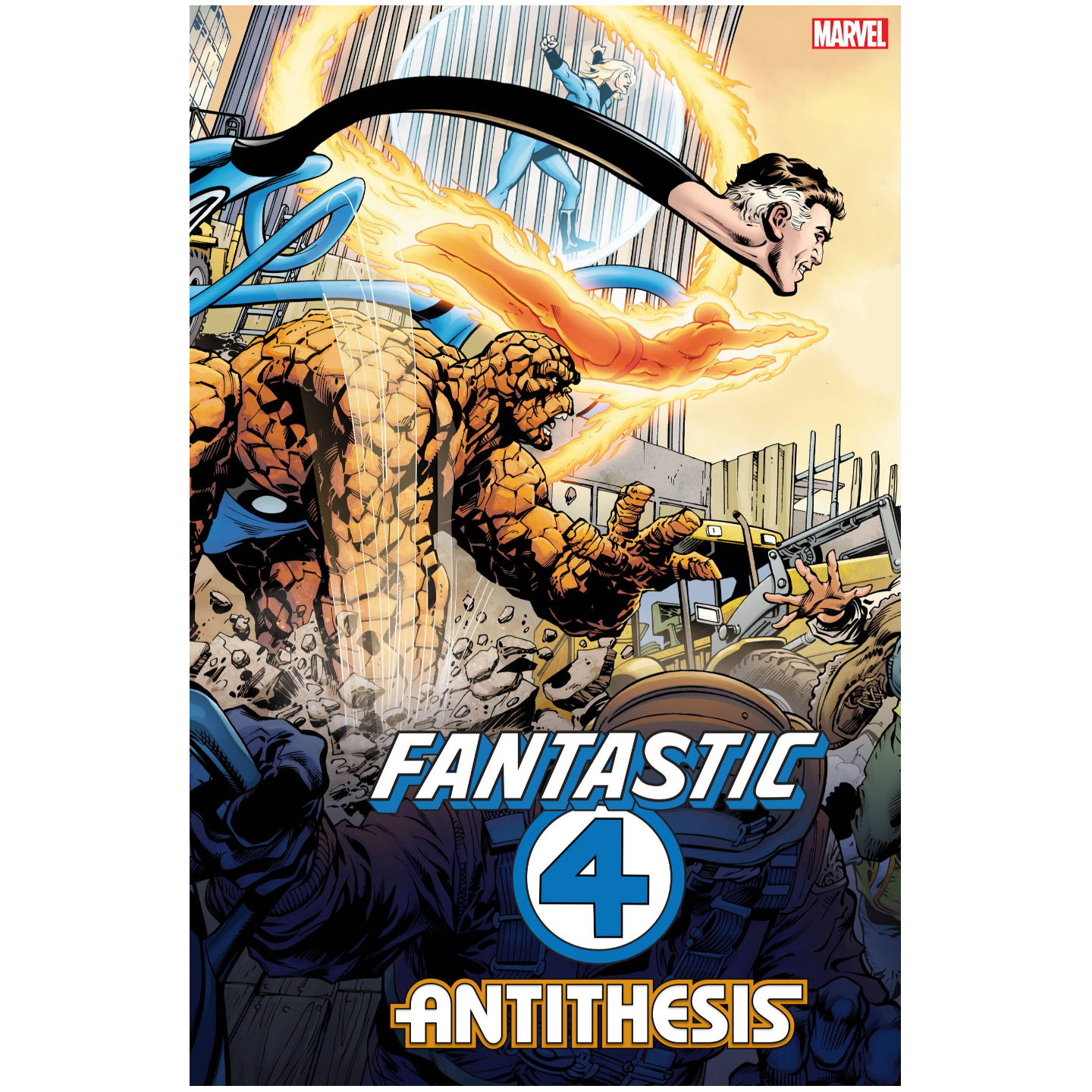 FANTASTIC FOUR ANTITHESIS #1 (OF 4) 2ND PTG VAR