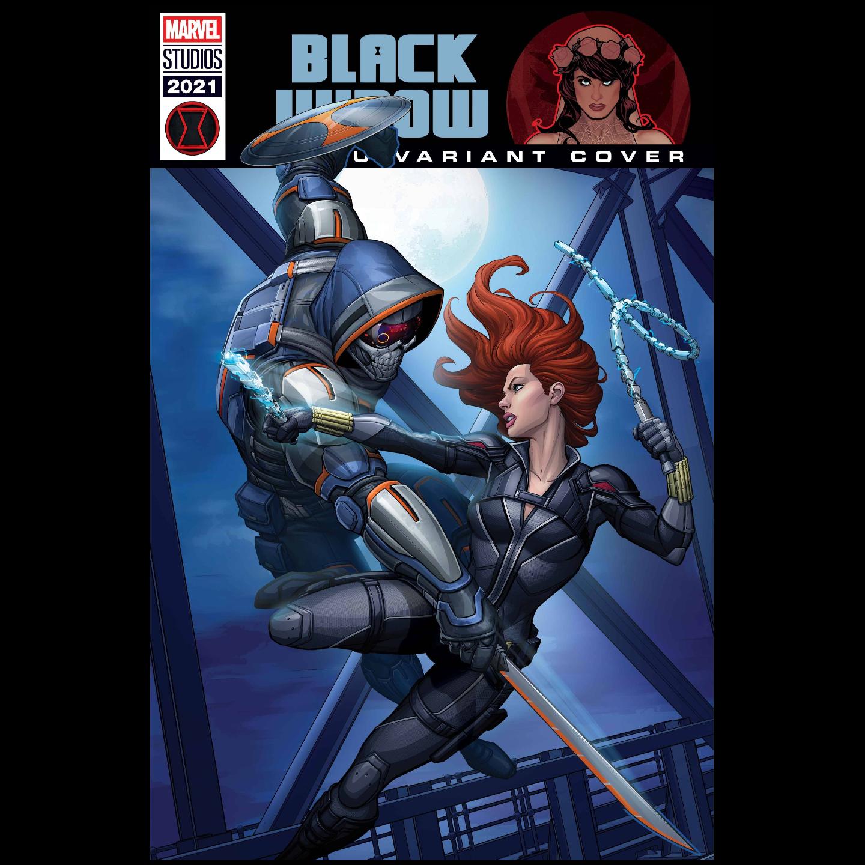 BLACK WIDOW #4 BROWN MCU VAR
