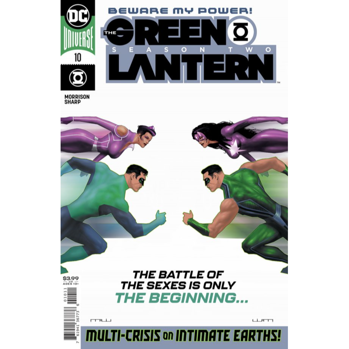 GREEN LANTERN SEASON TWO #10 (OF 12) CVR A LIAM SHARP