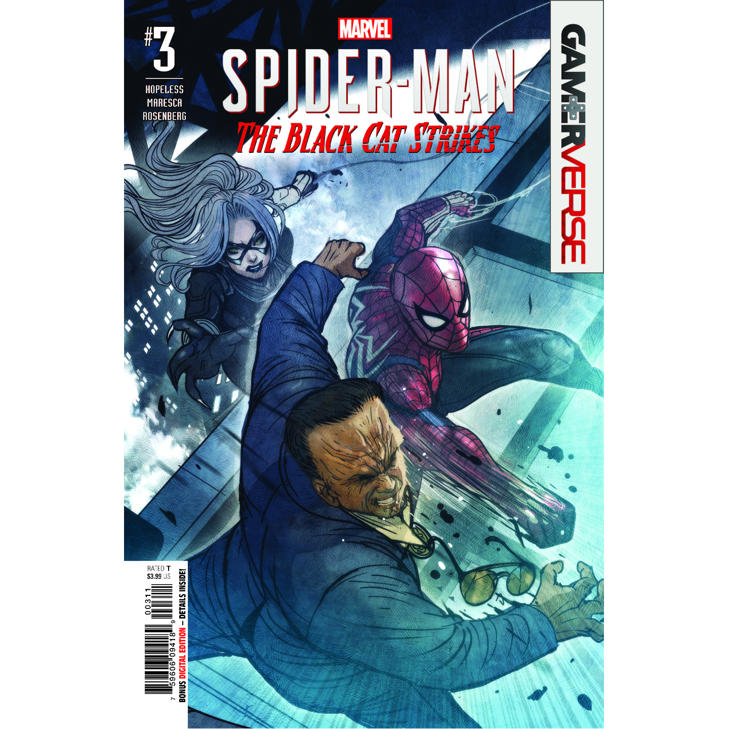 MARVELS SPIDER-MAN BLACK CAT STRIKES 3 OF 5