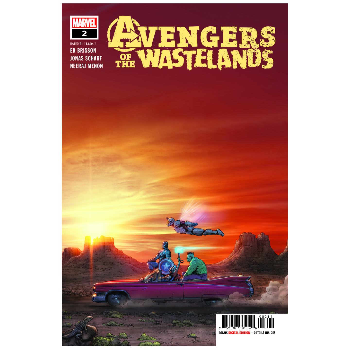 AVENGERS OF THE WASTELANDS 2 OF 5