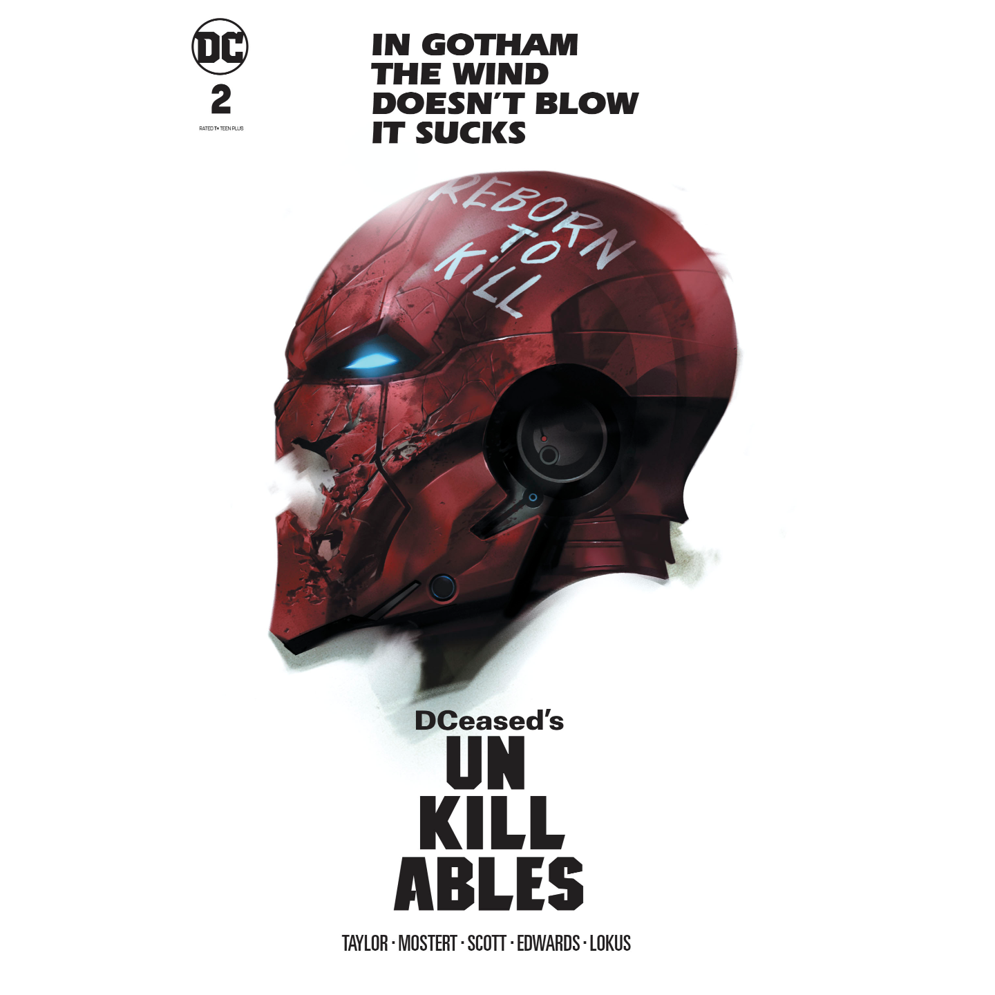 DCEASED UNKILLABLES #2 (OF 3) CARD STOCK HORROR  BEN OLIVER