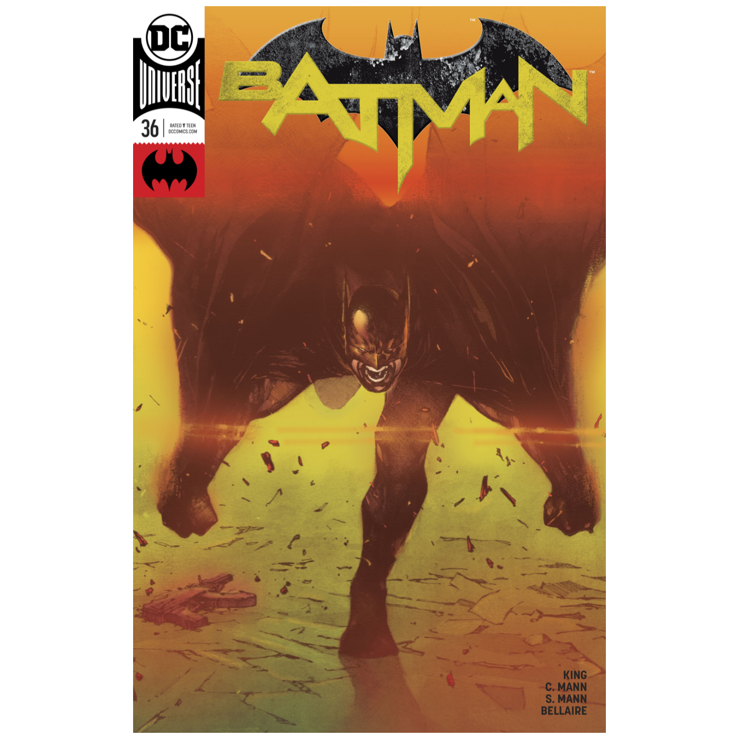 BATMAN #36 VARIANT