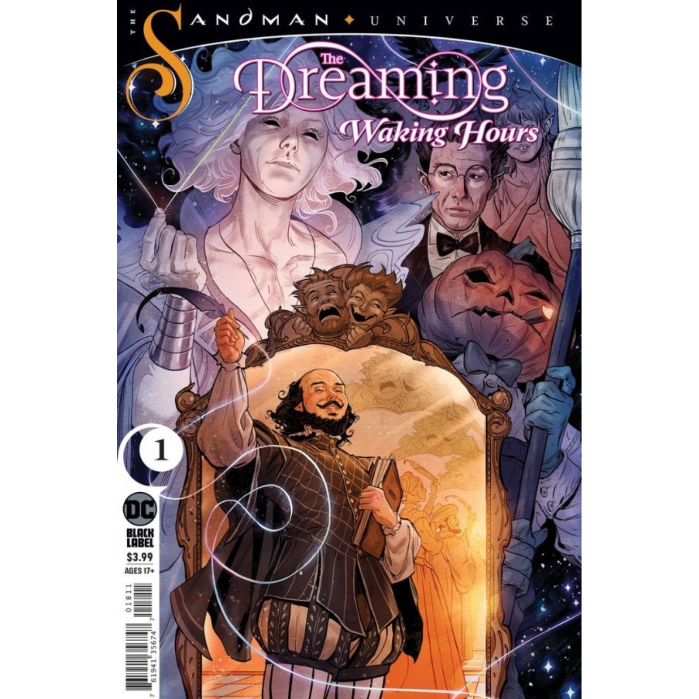 DREAMING WAKING HOURS #1 CVR A NICK ROBLES