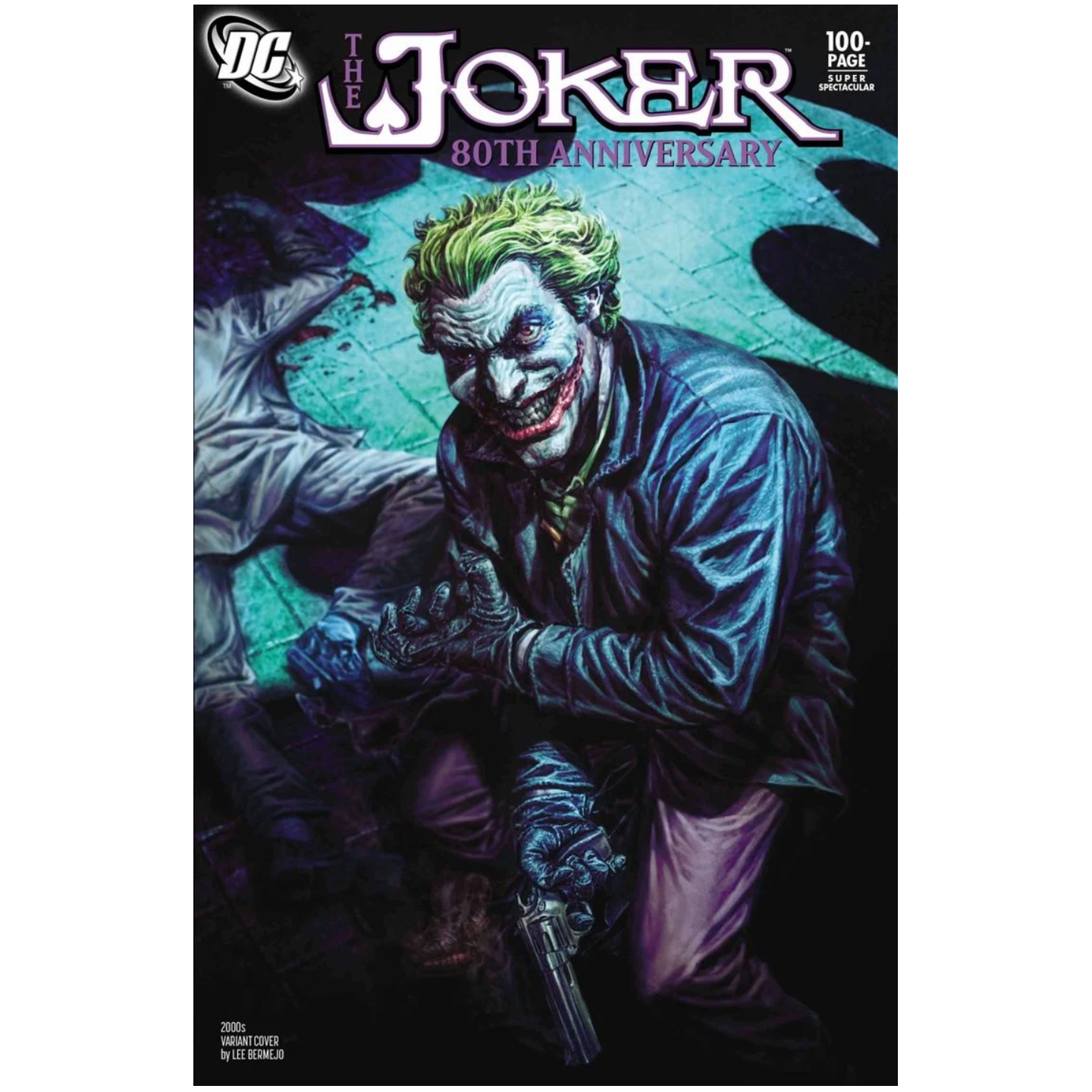 THE JOKER 80TH ANNIVERSARY 100-PAGE SUPER SPECTACULAR #1 2000S VARIANT COVER BY LEE BERMEJO