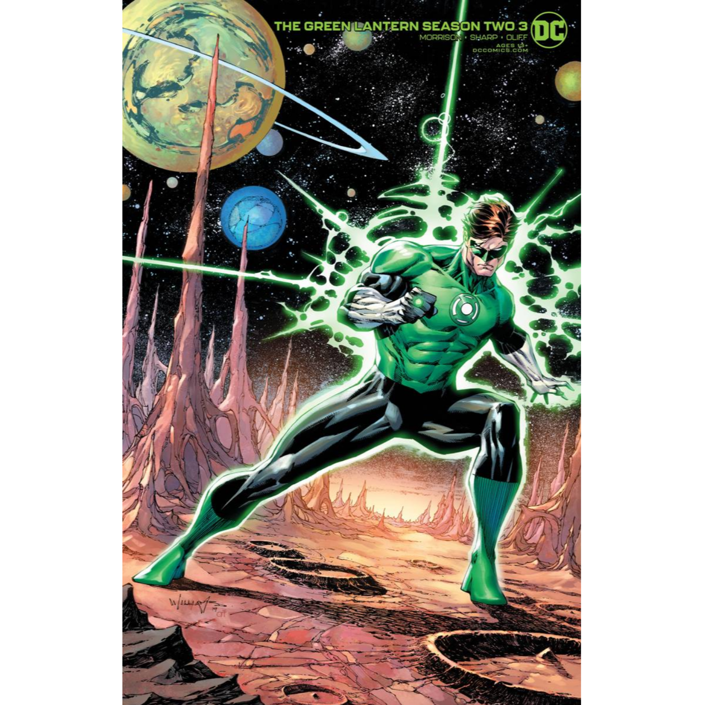 GREEN LANTERN SEASON 2 #3 (OF 12) SCOTT WILLIAMS VAR ED