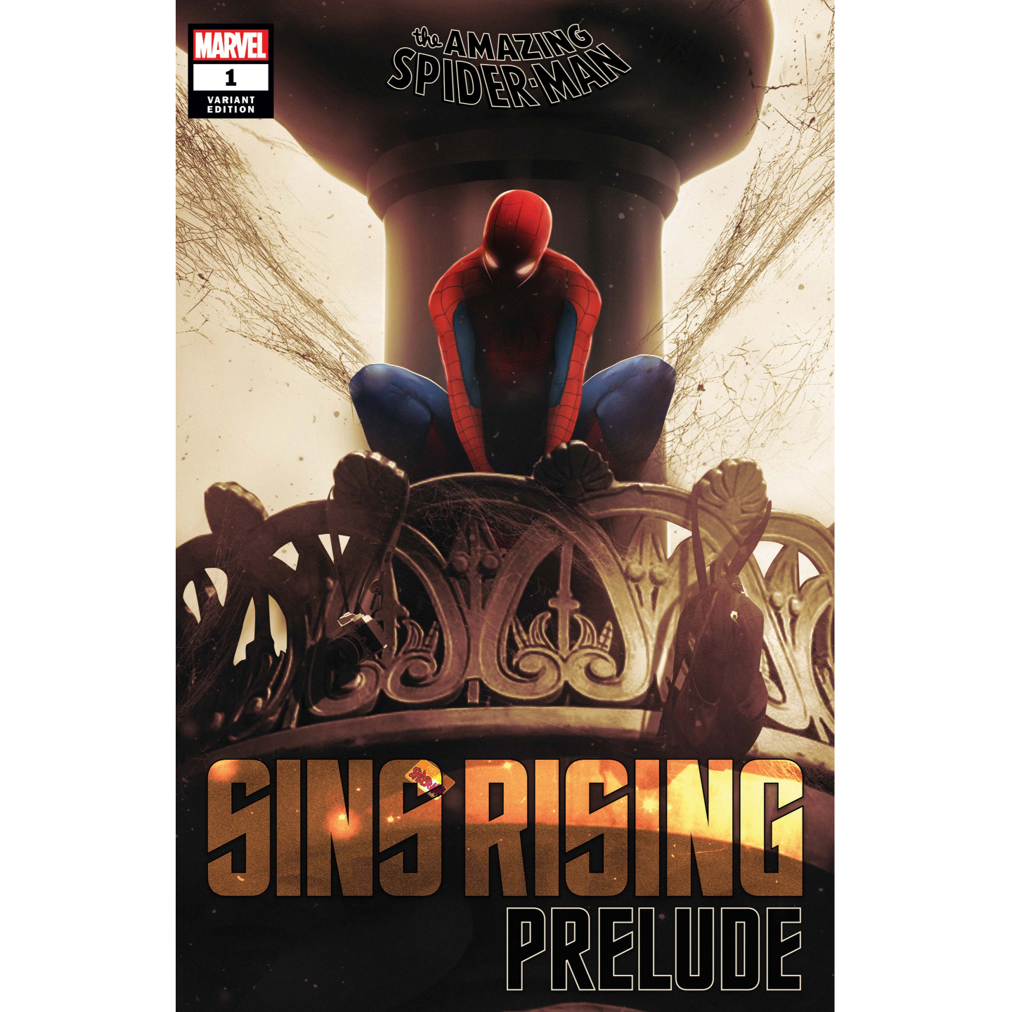 AMAZING SPIDER-MAN SINS RISING PRELUDE #1 BOSS LOGIC VAR