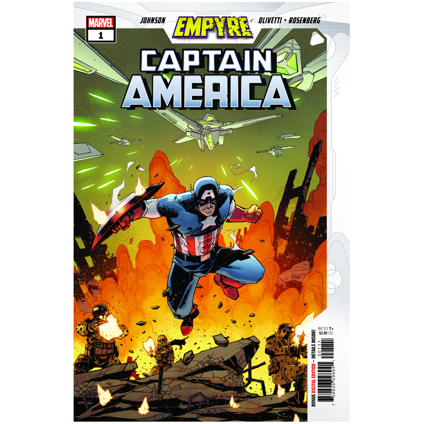 EMPYRE CAPTAIN AMERICA #1 (OF 3)