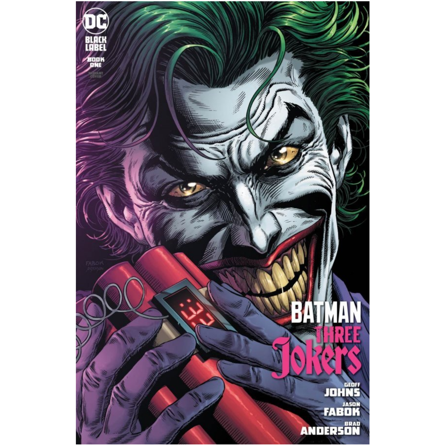 BATMAN THREE JOKERS 1 OF 3 PREMIUM VAR C