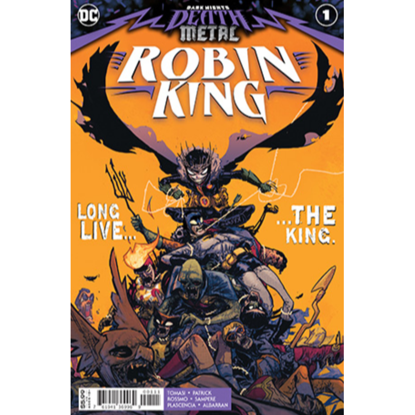 DARK NIGHTS DEATH METAL ROBIN KING 1 ONE SHOT CVR A RILEY ROSSMO