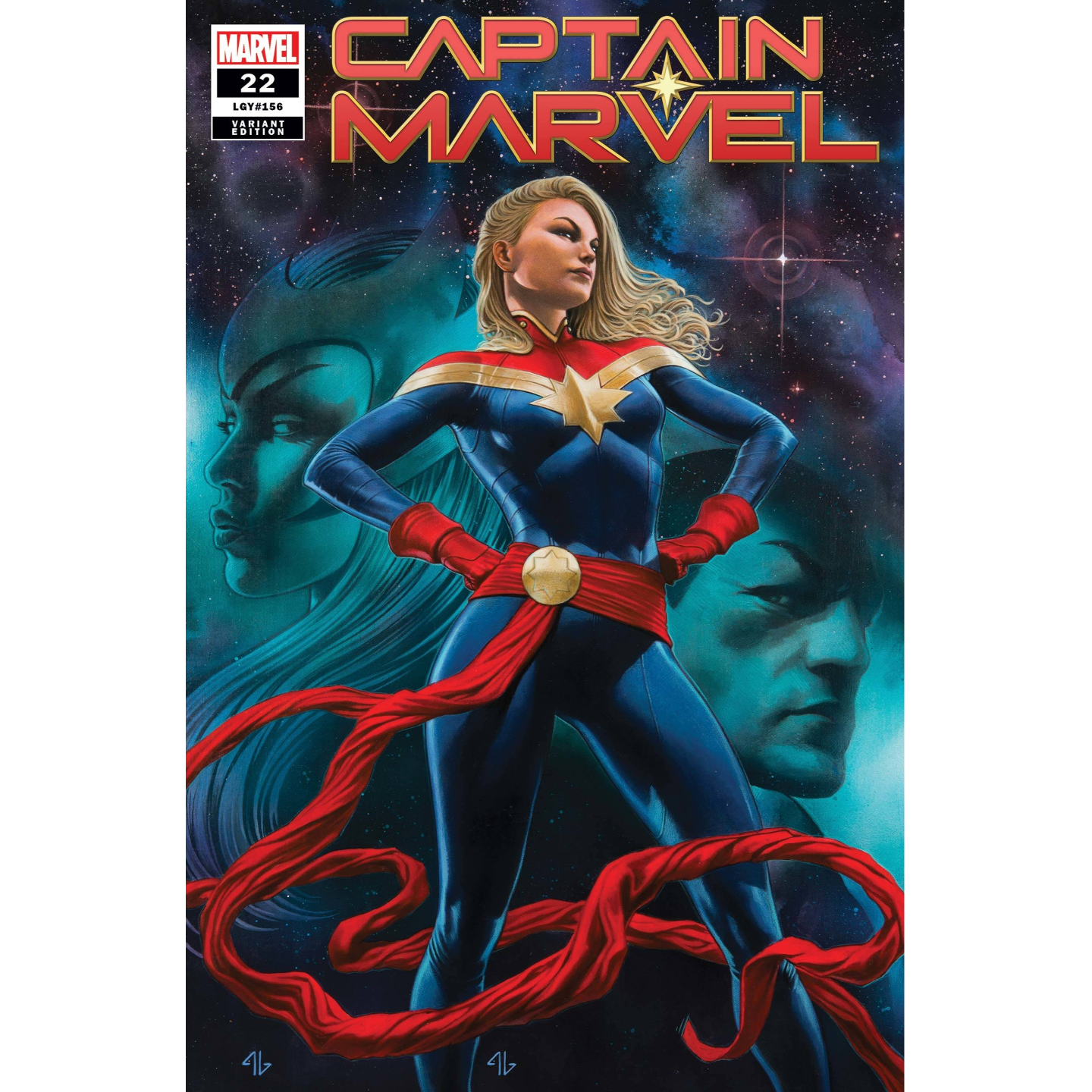 CAPTAIN MARVEL #22 GRANOV VAR