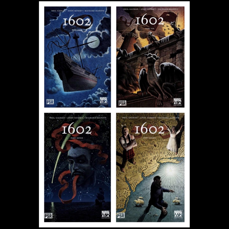 MARVEL 1602 #1 - #8 COMPLETE SET RUN