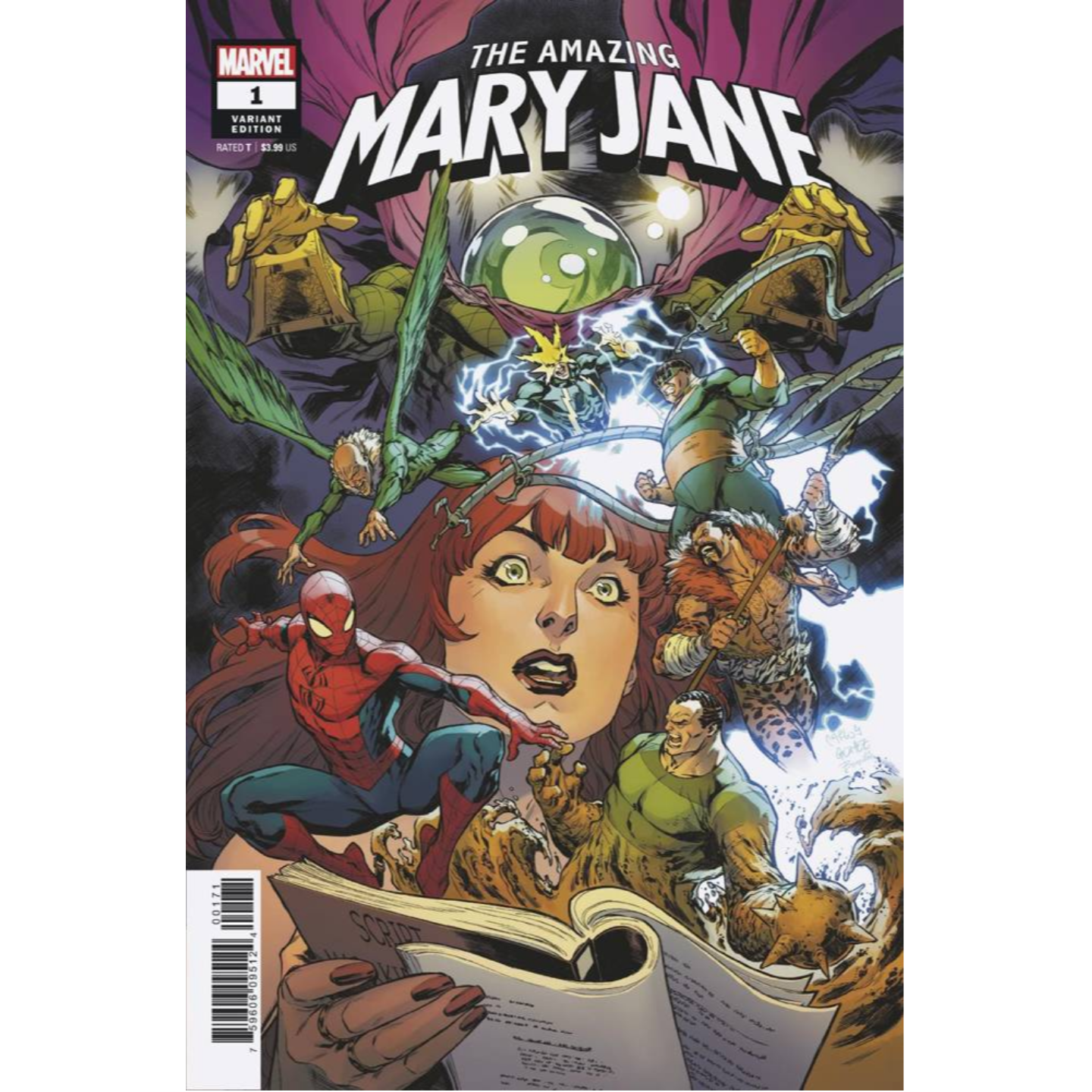 THE AMAZING MARY JANE 1 - GOMEZ VAR