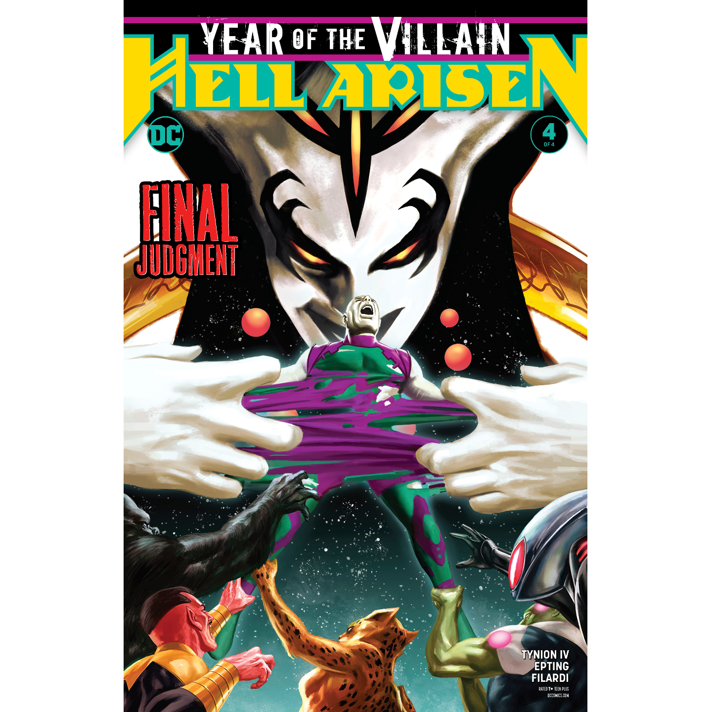 YEAR OF THE VILLAIN HELL ARISEN #4 (OF 4)