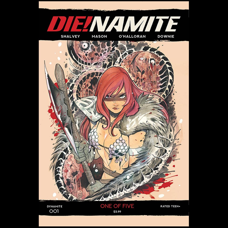 DIE!NAMITE #1 CVR D MOMOKO RED SONJA