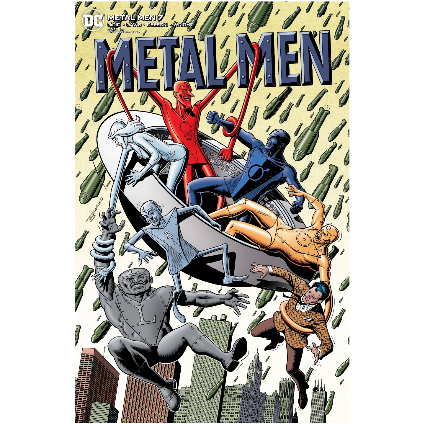 METAL MEN #7 (OF 12) BRIAN BOLLAND VAR ED