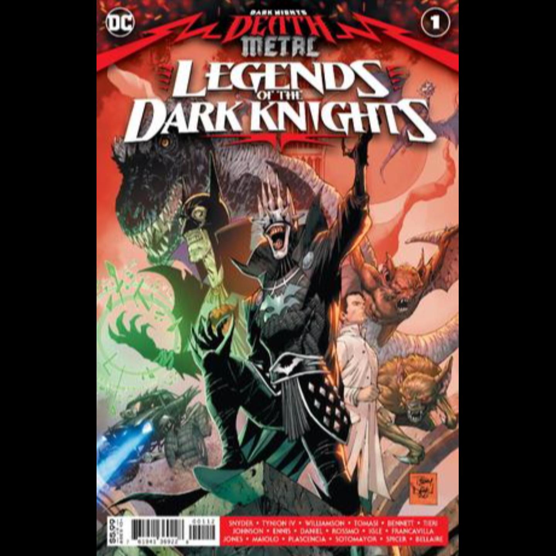 DARK NIGHTS DEATH METAL LEGENDS OT DARK KNIGHTS #1 Second printing