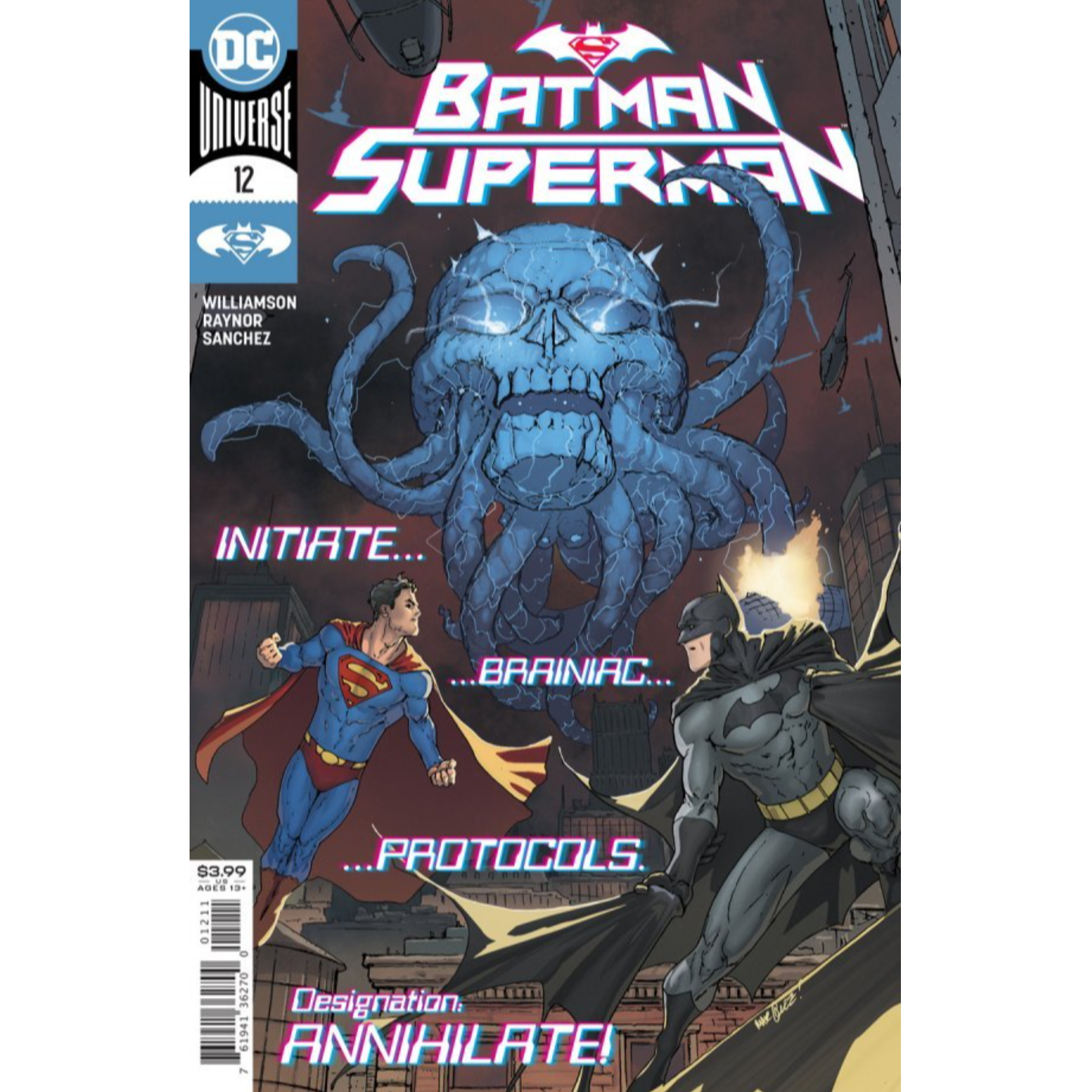 BATMAN SUPERMAN #12 CVR A DAVID MARQUEZ