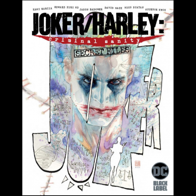 JOKER HARLEY CRIMINAL SANITY SECRET FILES #1 (ONE SHOT) CVR A DAVID MACK