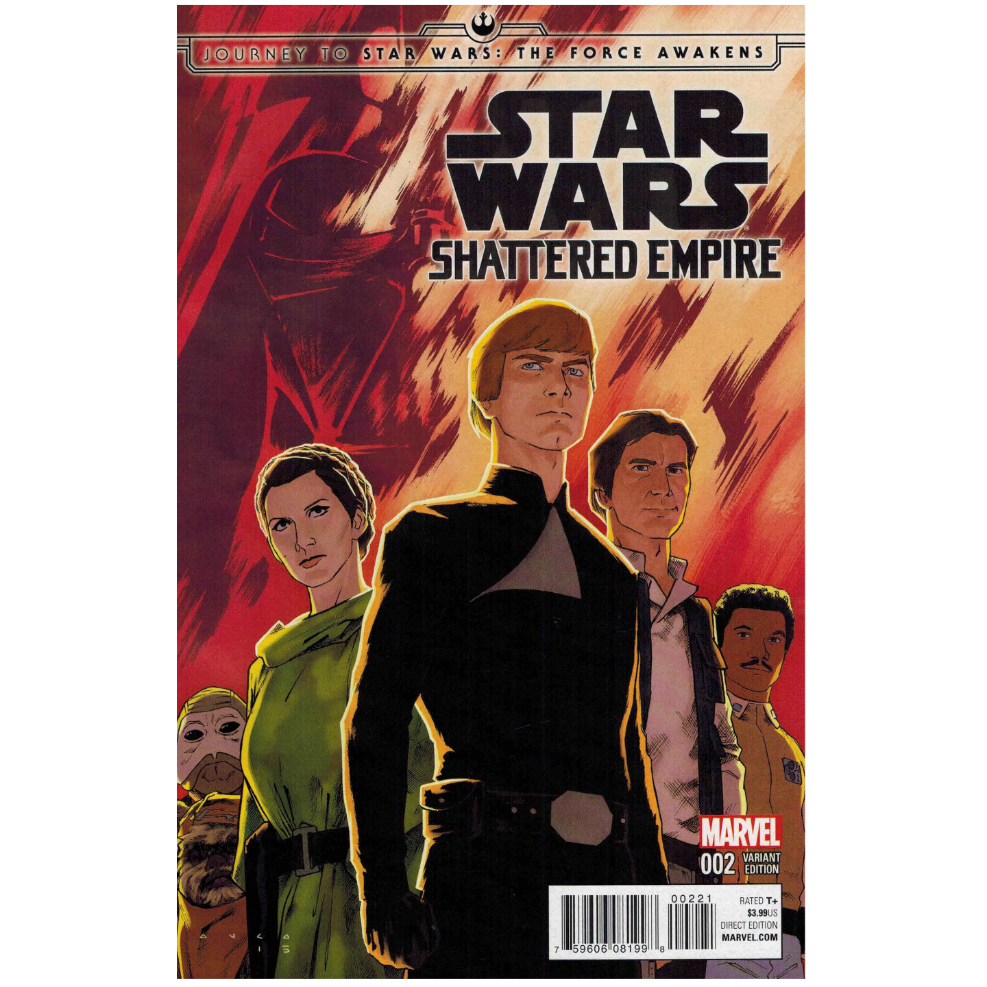 JOURNEY TO STAR WARS: THE FORCE AWAKENS - SHATTERED EMPIRE #2 ANKA VAR