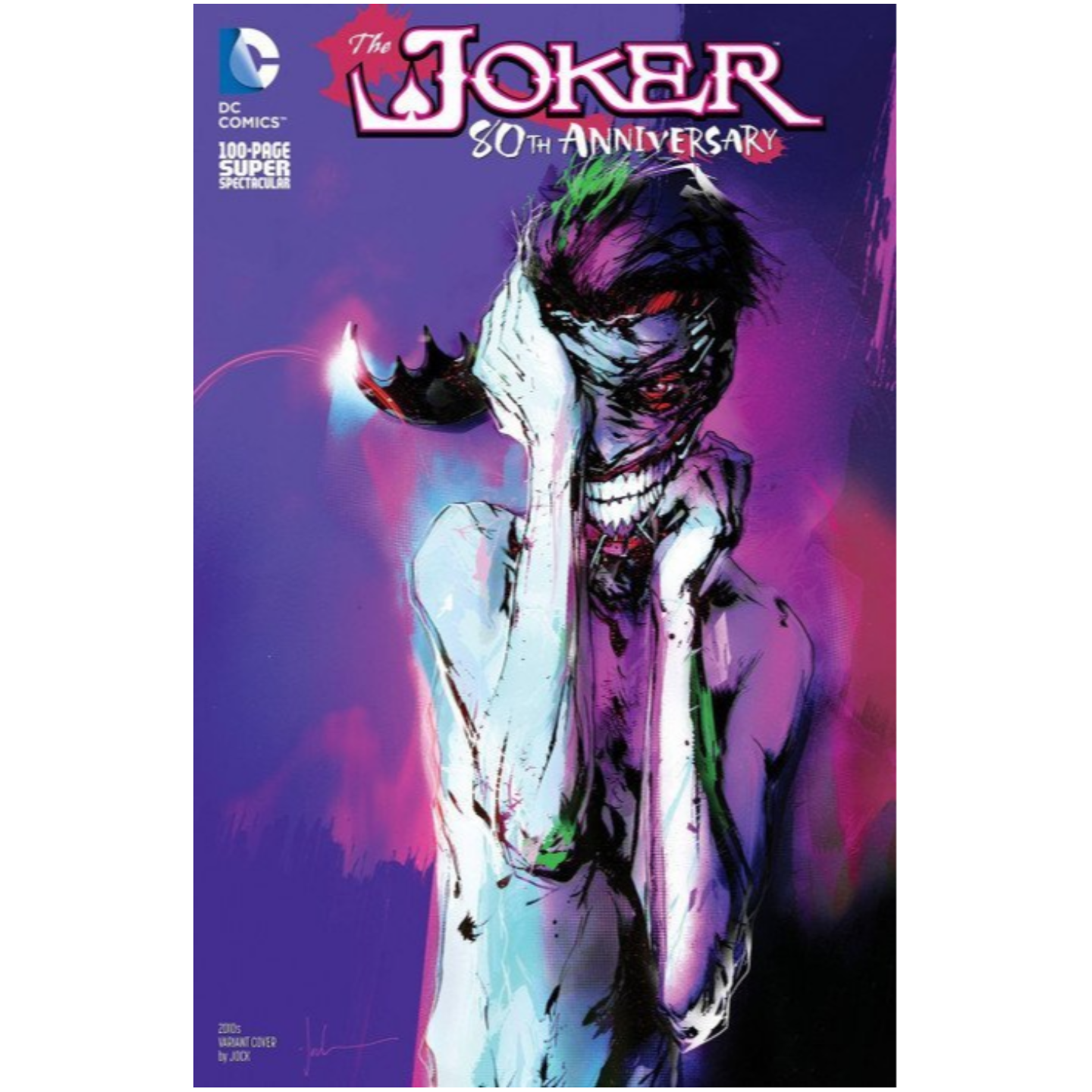 THE JOKER 80TH ANNIVERSARY 100-PAGE SUPER SPECTACULAR 1 2010S VARIANT COVER BY JOCK