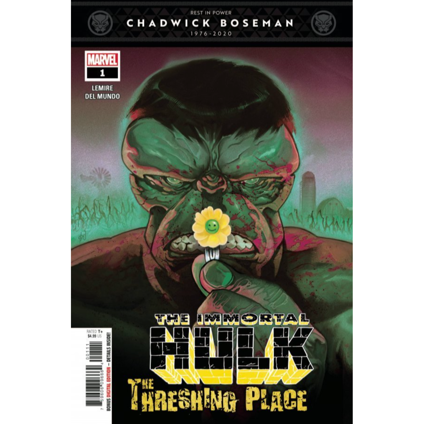 IMMORTAL HULK THRESHING PLACE #1
