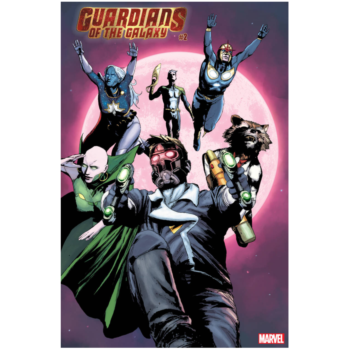 GUARDIANS OF THE GALAXY #2 - SORRENTINO VAR