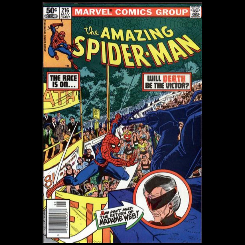 AMAZING SPIDERMAN #216