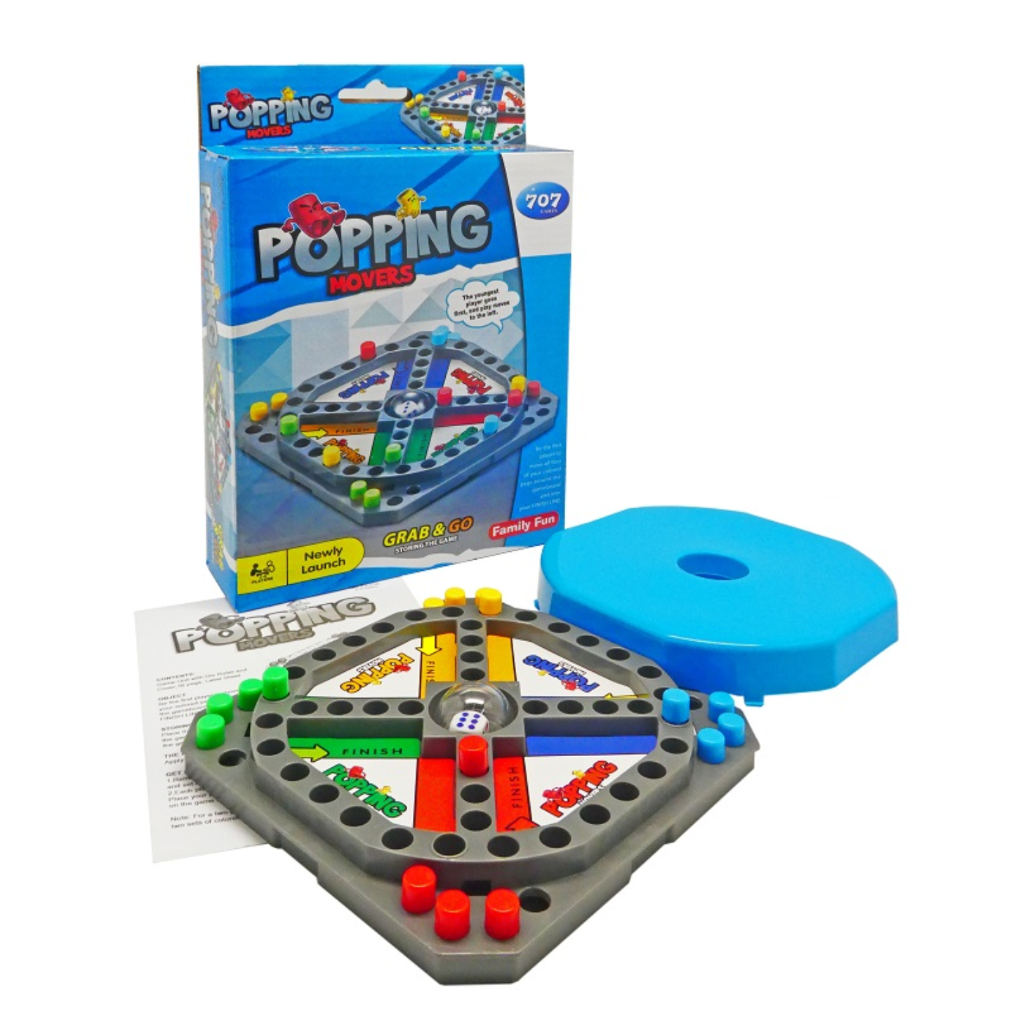 Play N Learn Popping Movers Game