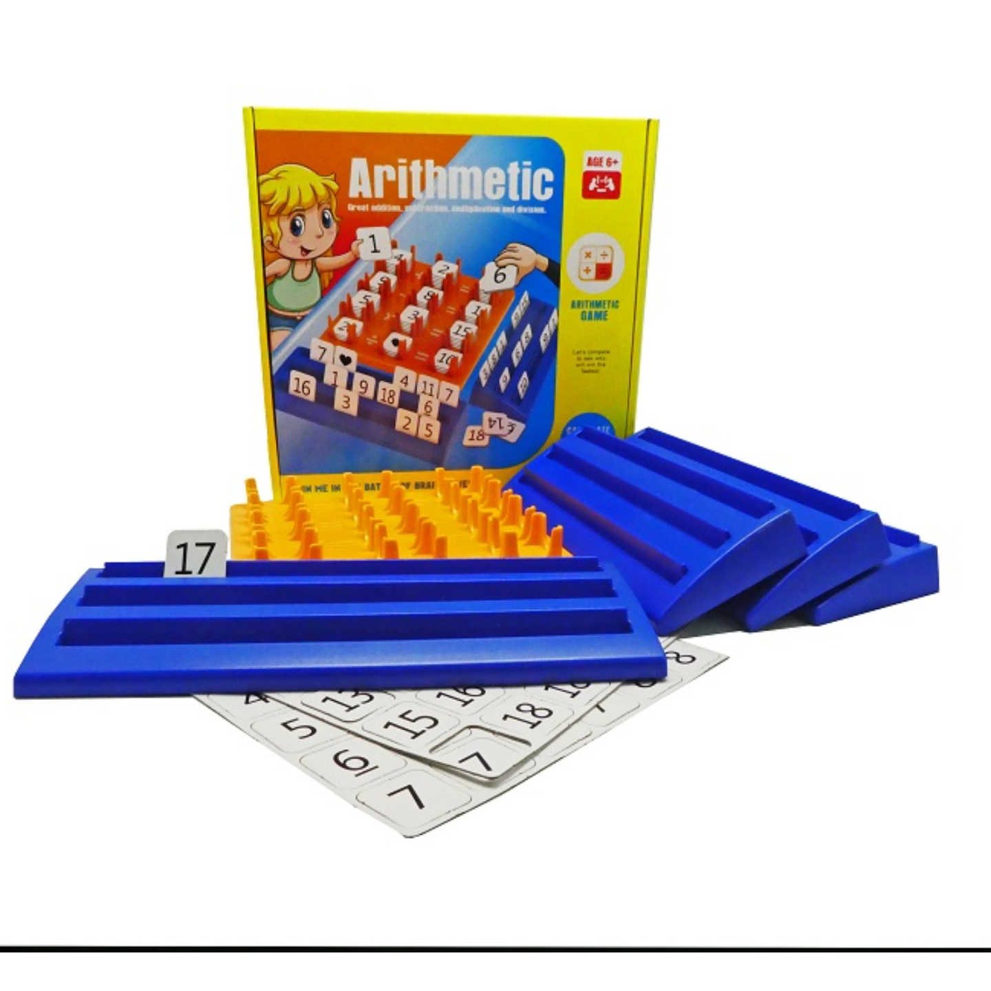 Play N Learn Arithmetic Game