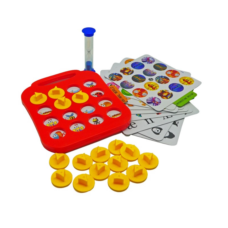 Play N Learn Fun Lotto Memory Board Game