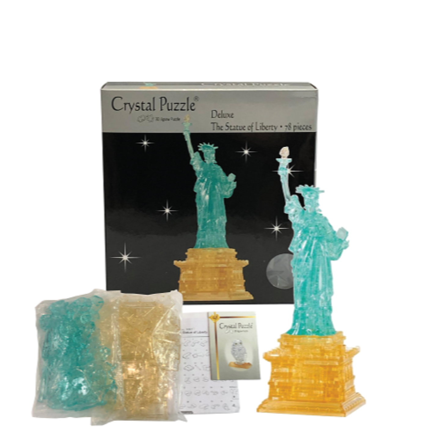3D Crystal Puzzle The Statue Of Liberty