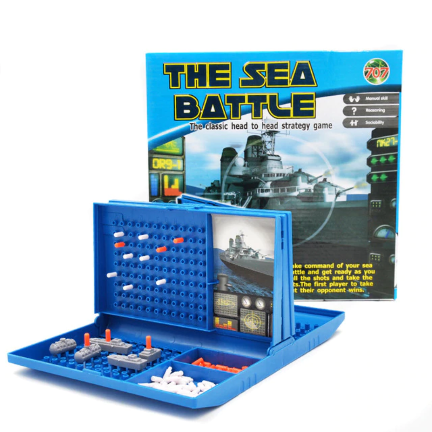 Play N Learn Sea Battle Board Game